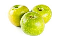 äpple - green tre Arkivfoton