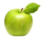 äpple - isolerad green Royaltyfria Foton