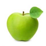 äpple - isolerad green royaltyfri foto