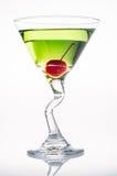 äpple martini Royaltyfri Fotografi