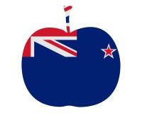 äpple New Zealand vektor illustrationer