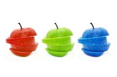 äpple rgb Arkivbilder