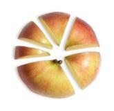 äpple som affärsdiagram Royaltyfri Bild