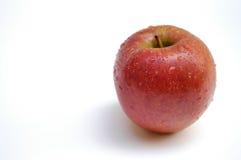 äpple våt ii Fotografering för Bildbyråer