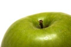 äpplebakgrundsgreen arkivfoton