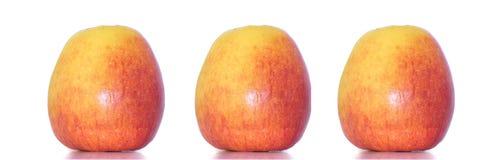 äppleclippingen innehåller digital white för bana för lutningillustrationingrepp Royaltyfria Foton