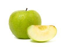 äppledagg tappar green Arkivfoton
