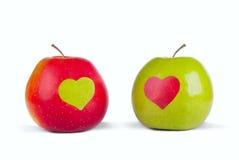 äppleförälskelse Royaltyfri Bild