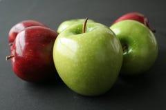 äpplefrukter Fotografering för Bildbyråer