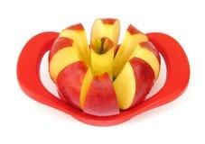 äppleköksredskap som används till att kärna ur frukt medförskärare Royaltyfri Fotografi