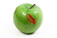 äppleläppstift Arkivfoto