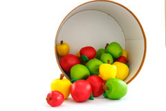 Äppleleksaken Arkivbild