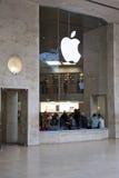 äppleluftventillager royaltyfri foto