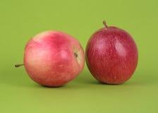 äpplematfrukt Arkivfoto