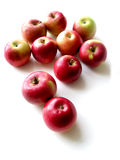 äpplen 1 royaltyfria bilder