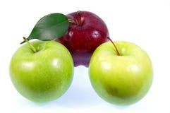 Äpplen. Arkivbild
