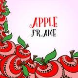 Äpplen 04 Fotografering för Bildbyråer