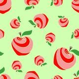 02 äpplen Arkivbilder