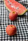 Äpplen Royaltyfria Foton