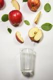 Äpplen för juicing Royaltyfri Foto