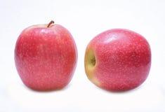 Äpplen för rosa dam Fotografering för Bildbyråer