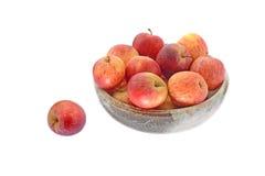 Äpplen i vas Royaltyfri Foto