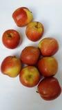 Äpplen läckra frukter Royaltyfria Bilder