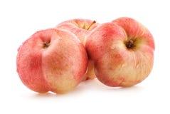 Äpplen med vattendroppar Royaltyfri Bild