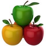 äpplen ny hög res Arkivfoton