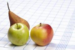 Äpplen och päron Royaltyfri Foto
