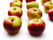 Äpplen på tabellen Royaltyfri Foto