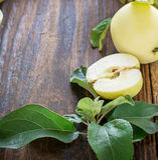 Äpplen på träbakgrund Royaltyfri Fotografi