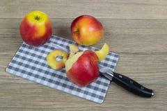 Äpplen som ett vitamin bantar Royaltyfri Foto