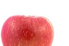 Äpplen som isoleras på en vit bakgrund Smaklig och sund frukt Arkivbild