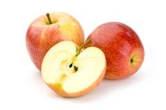 äpplen stänger sig upp Arkivfoton