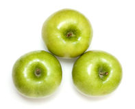 äpplen tre Royaltyfria Bilder