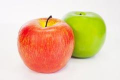 äpplen två Arkivbild