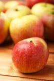 Äpplena Arkivfoton