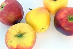 Äpplena Arkivbilder