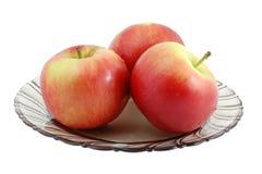 äppleplatta Fotografering för Bildbyråer