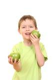 äpplepojke arkivbilder