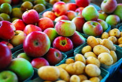 äpplepotatisar Arkivbild