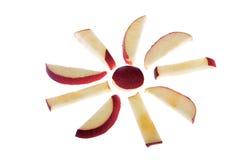 äppleprydnad arkivbild