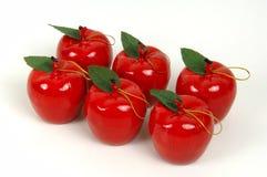 äppleprydnadar Arkivbild