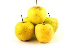 äpplepyramid arkivfoto