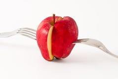 äpplesnitt Arkivfoton