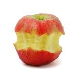 äpplet äter Royaltyfria Bilder