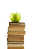 äpplet books green arkivbilder