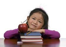 äpplet books utbildningsserie Royaltyfria Foton