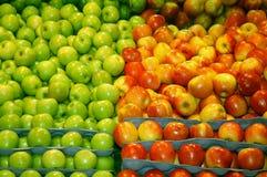 äpplet shoppar Arkivbild